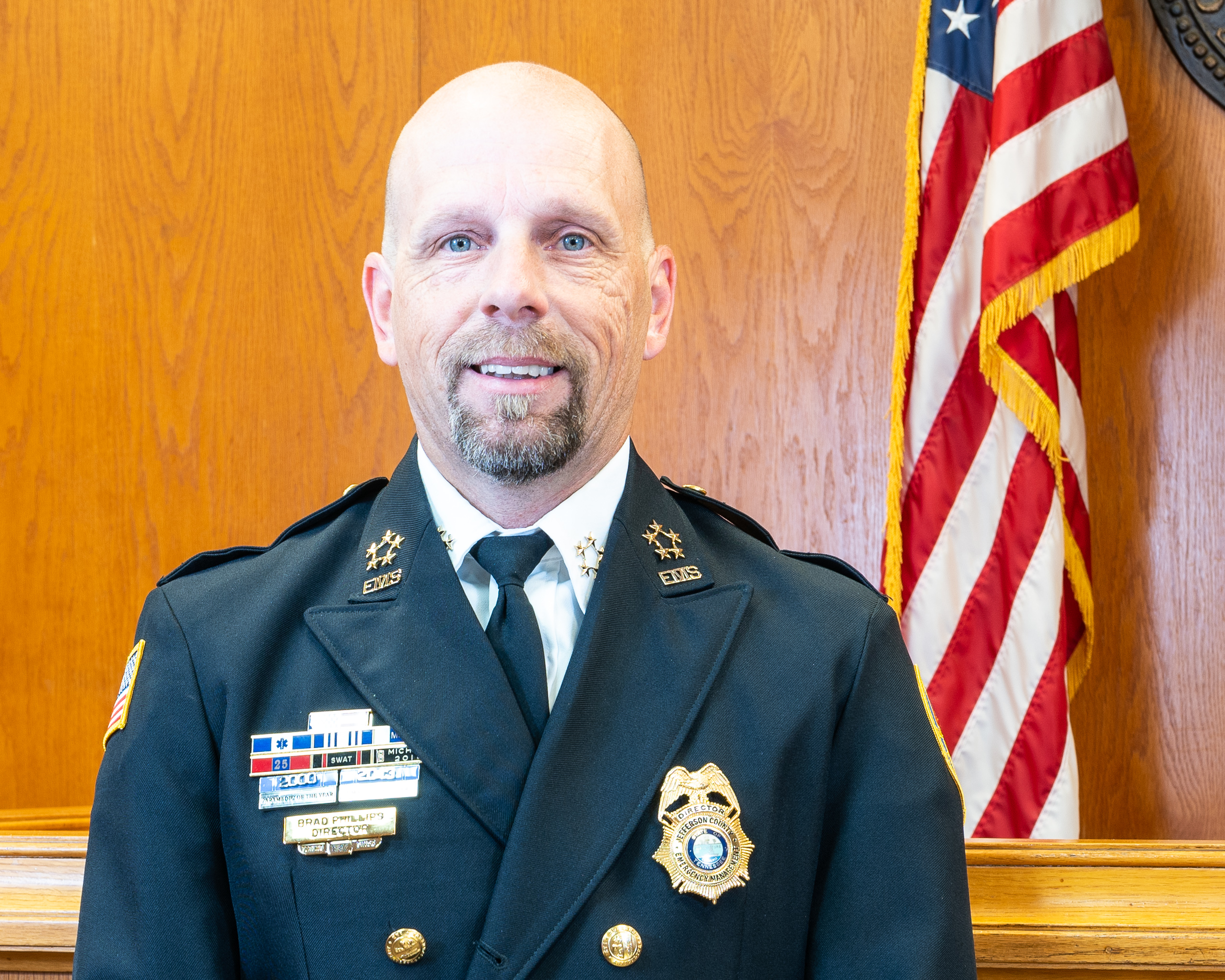 Emergency Medical Services Director, Brad Phillips, Jefferson County, TN