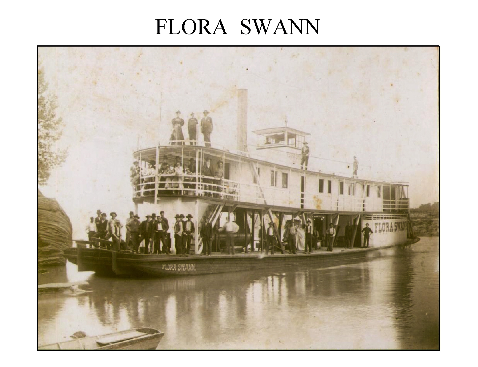 Flora Swann Riverboat, Jefferson County, TN