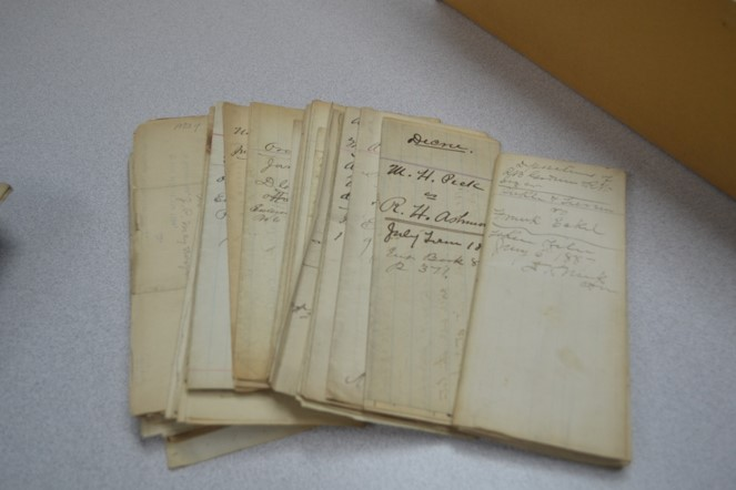 historical documents of Jefferson County, TN