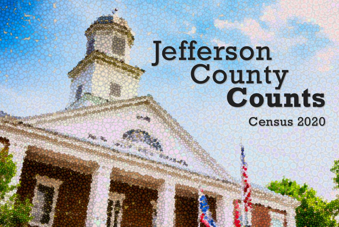 Jefferson County Counts 2020 Census Graphic