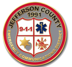 Badge/Seal of the Jefferson County Emergency Communications District