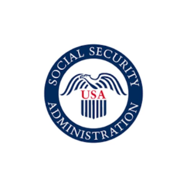 social security administration logo on a white background