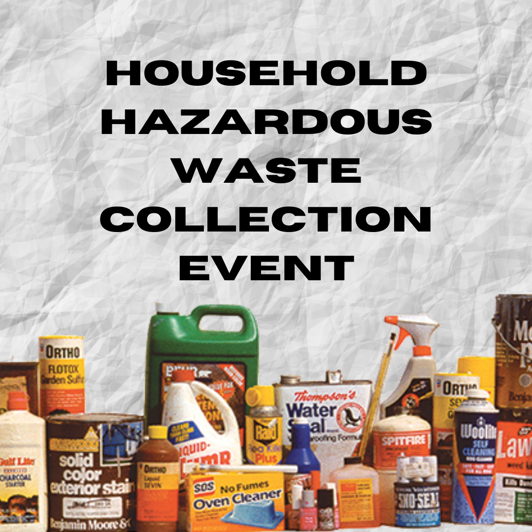 graphic for household hazardous waste collection event taking place in jefferson county TN